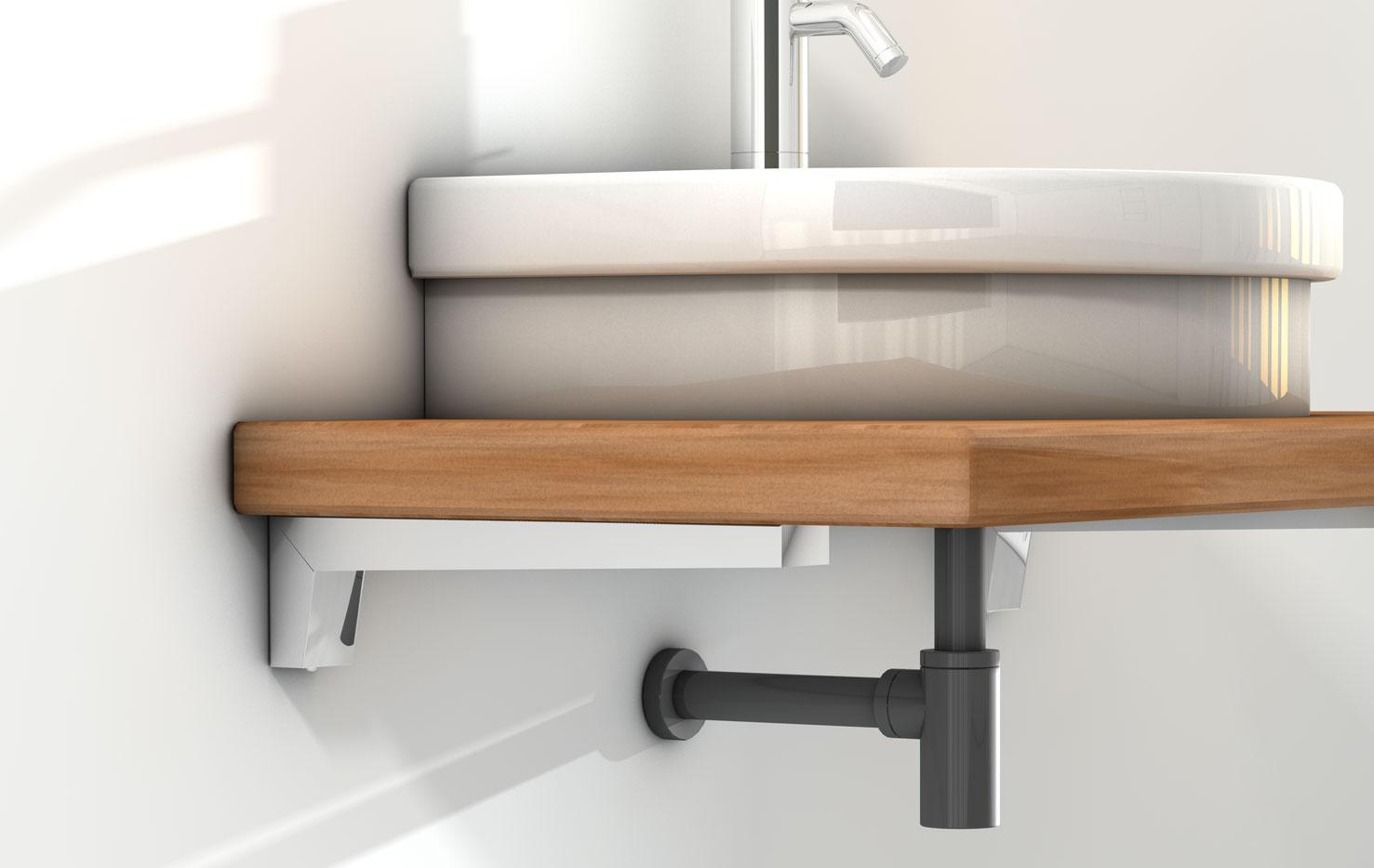 Mensola lavabo for Mensola lavabo ikea