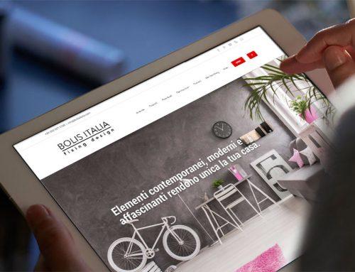 Nuovo web site Bolis Italia